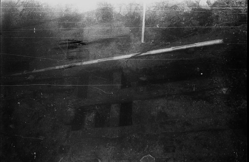 Vue sous-marine de détail de la carène (fouille B. Liou).