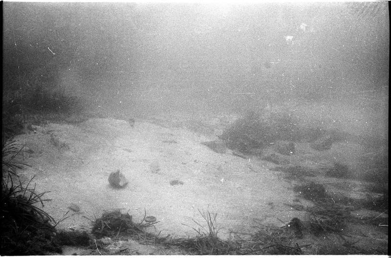 Vue sous-marine du site (fouille A. Tchernia).