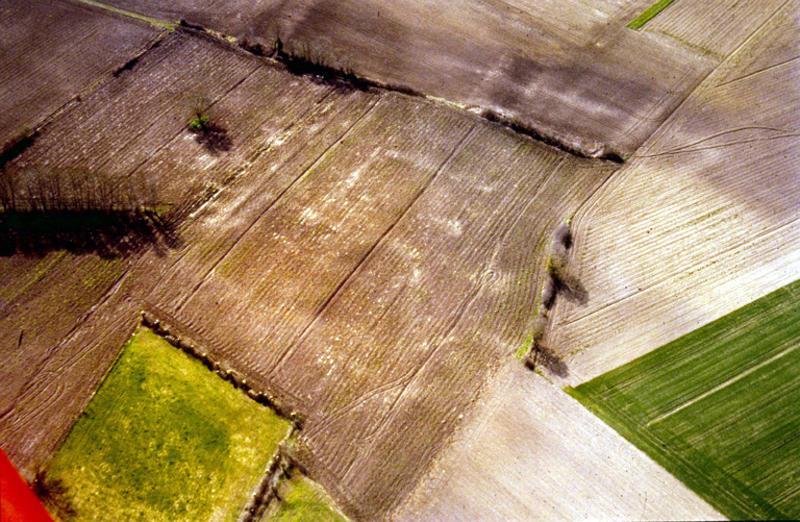 Habitat médiéval disparu.
