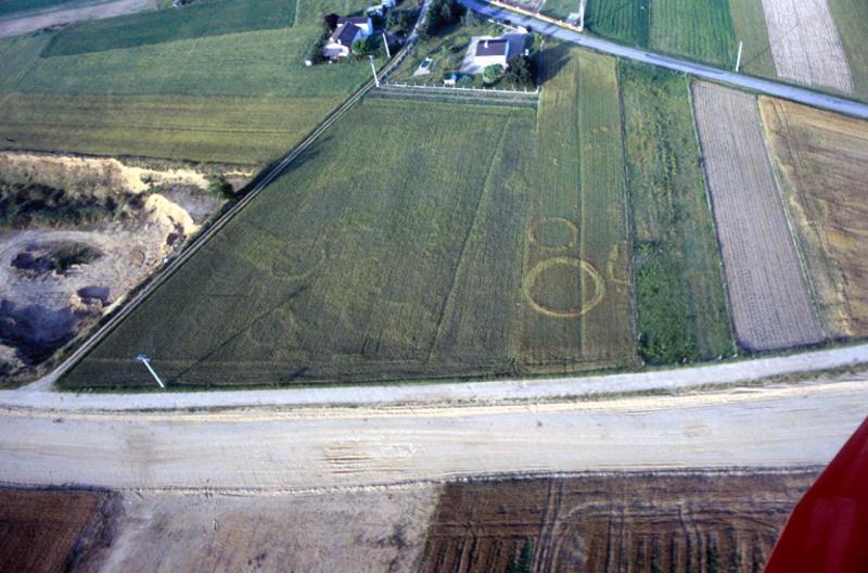 Enclos circulaire, enclos quadrangulaire.