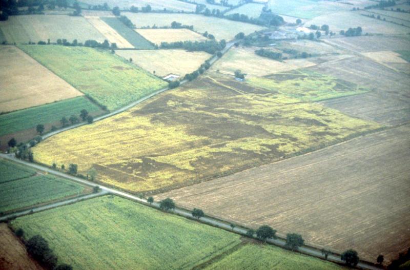 Structures gallo-romaines.