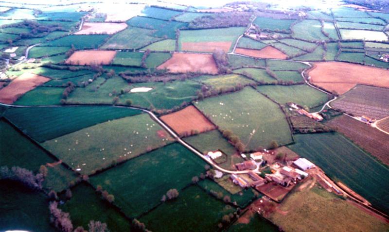 Site fortifié arasé, motte castrale possible.