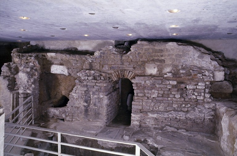 mausolée de l'abbaye Saint-Martial