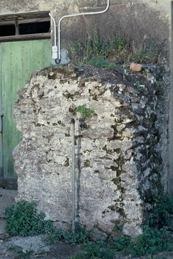 Citerne, vue d'une voûte intérieure.