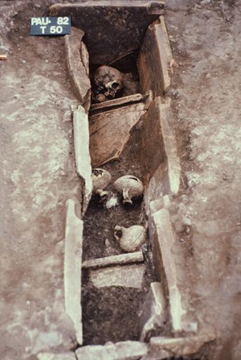 Vue de l'inhumation n° 50.