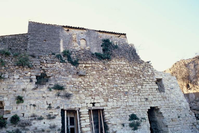 Vue générale : façade nord.