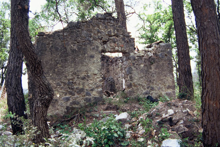 Vue du dolmen.