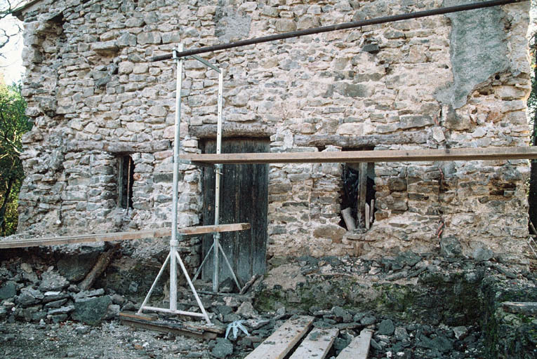 Vue de la chapelle.
