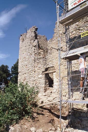 Vue de la restauration du vieux village.