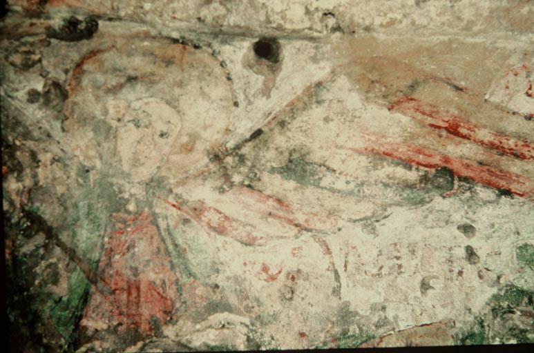 Vue de la fresque (espace 3).