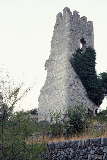 Vue du château.