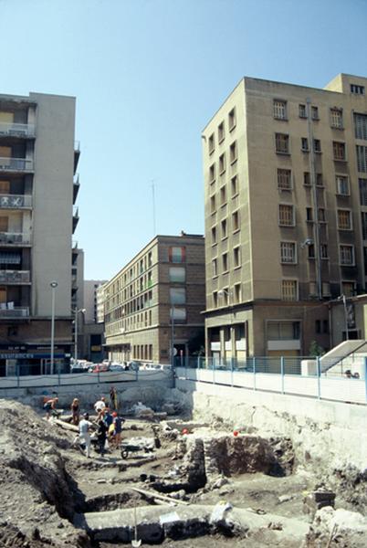 Port : bâti romain
