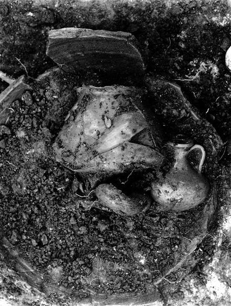Nécropole : incinération