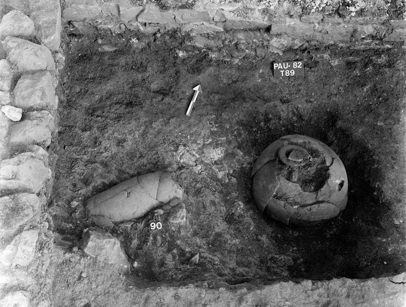 Nécropole : inhumation et incinération