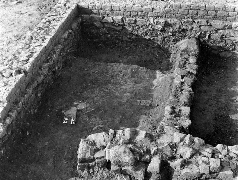 nécropole, occupation : enclos et activité agricole