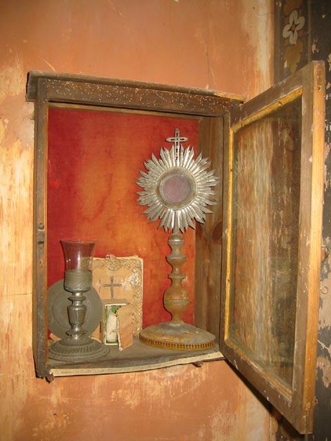 Ostensoir, calice et patène de prêtre réfractaire