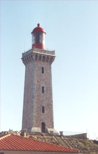 Phare du Cap Béar (vers 1882) (Etablissement de signalisation maritime n°1282/000)