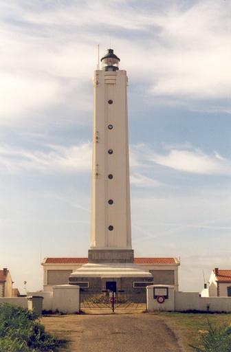 Phare de l'île d'Yeu aussi appelé Phare de la Petite Foule (Etablissement de signalisation maritime n°1002/000)
