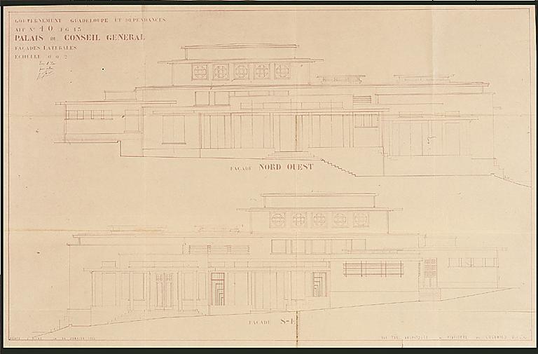 Hôtel de département dit palais du conseil général