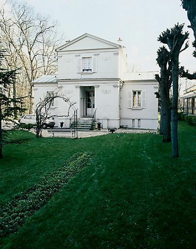 maison d'architecte dite maison de campagne de Durand ou pavillon Monge ou château Laplace