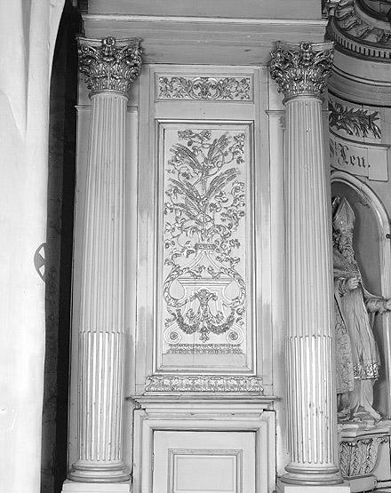 Pierre tombale de Marie-Françoise-Elisabeth Dequitville