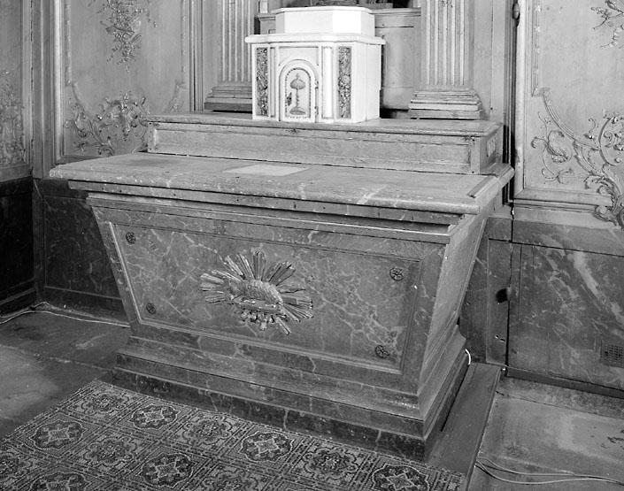 ensemble de l'autel de Saint-Roch