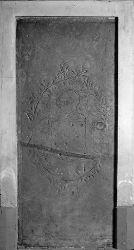 dalle funéraire de Philippe de Cannaye