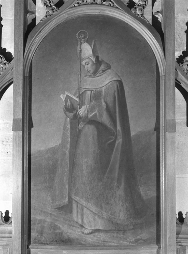 Tableau d'autel de saint Erembert