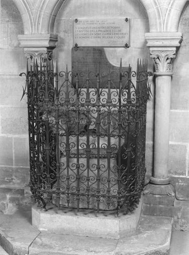 Fonts baptismaux dits de saint Louis