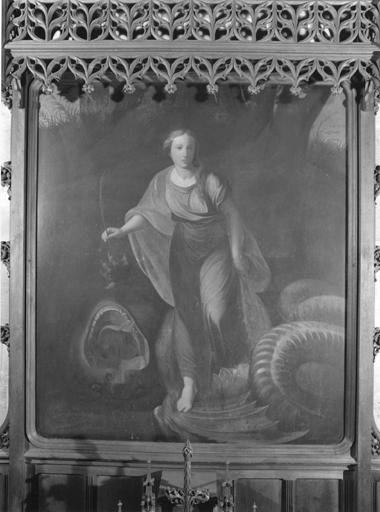 Tableau de sainte Marguerite