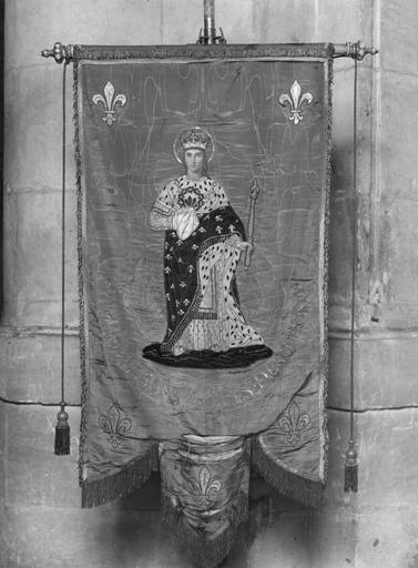 Bannière de procession de saint Louis