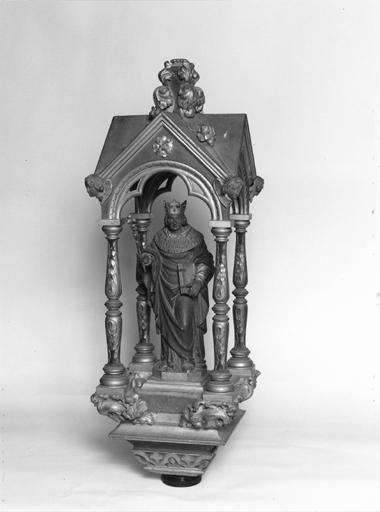 bâton de procession de saint Louis