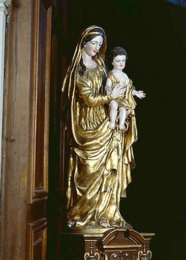 statue : Vierge à l'Enfant, n°1