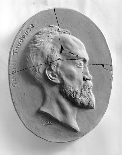 bas-relief de Gabriel Toudouze