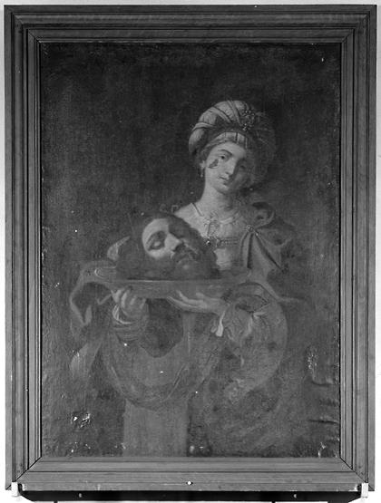 tableau : Salomé portant la tête de saint Jean-Baptiste