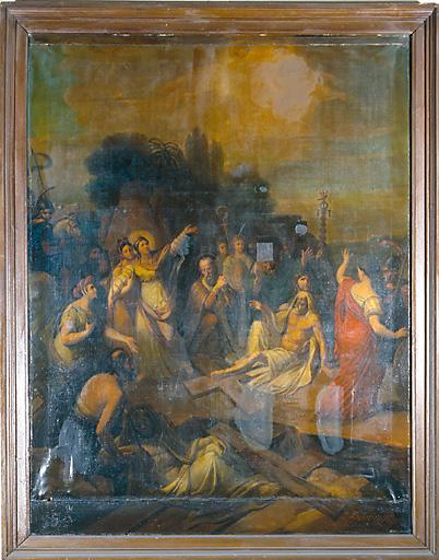 Tableau : Sainte Hélène découvrant la Vraie Croix