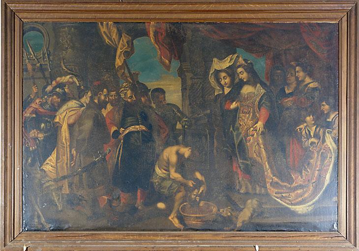 Tableau : La tête de saint Jean-Baptiste présentée à Hérodiade
