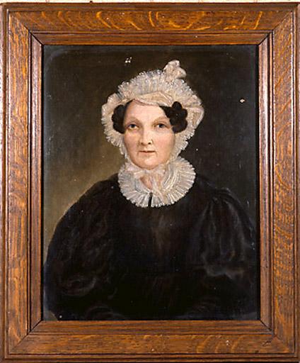 tableau : Portrait de dame agée