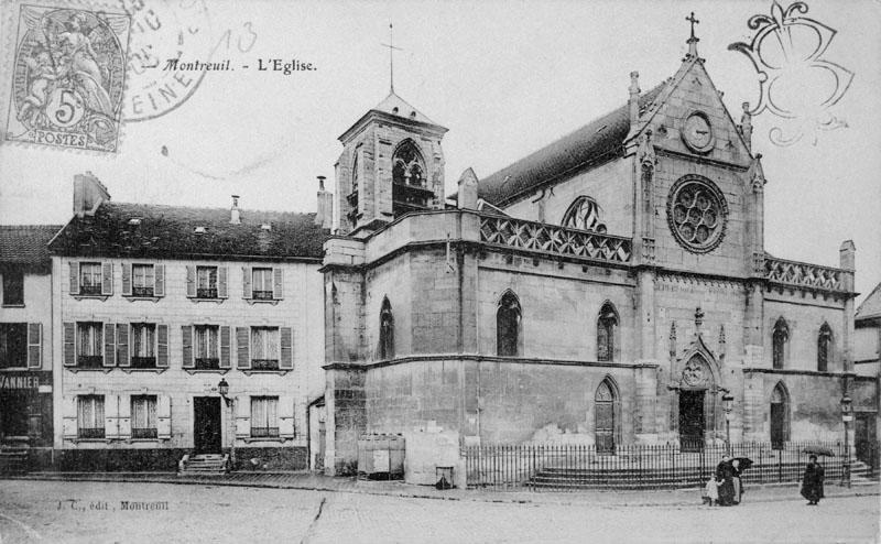 Église paroissiale Saint-Pierre-Saint-Paul, dite paroisse du Roi Saint-Louis, dite église du haut-Montreuil