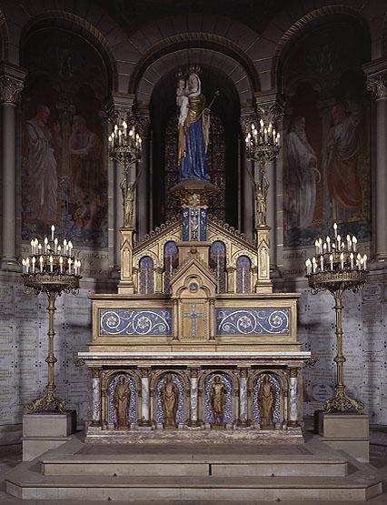 Autel de la Vierge, tabernacle