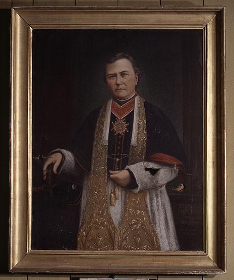 Tableau : portrait de l'abbé Arthaud