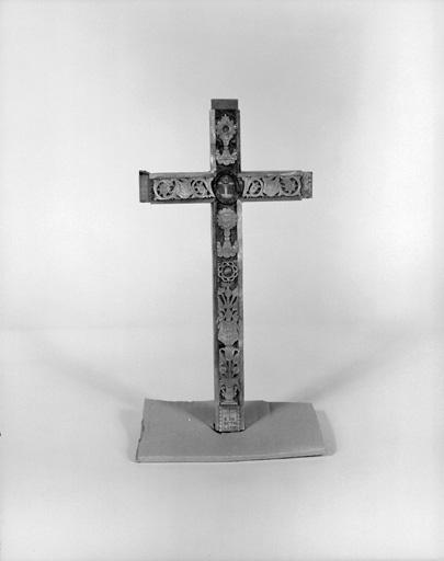 Croix-reliquaire du bois de Gethsemani