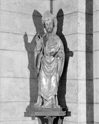 Statue : saint Patrice