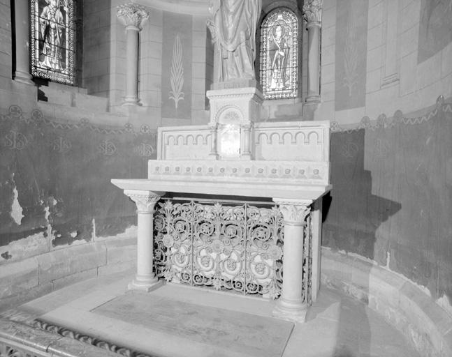 Ensemble de 2 autels et 2 tabernacles