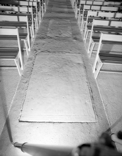 Dalle funéraire de Jean Lausmonier