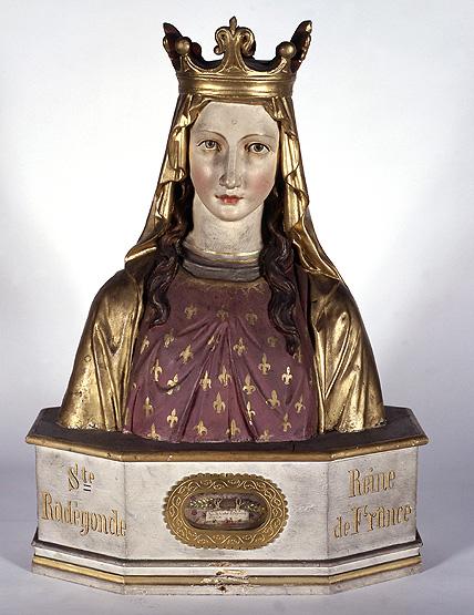 Ensemble du reliquaire : 13 bustes-reliquaires