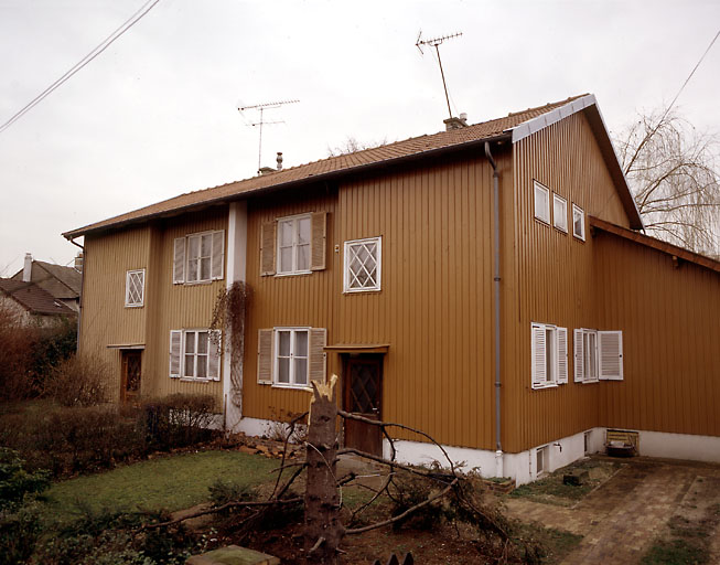 maisons jumelles dites maisons Omnis