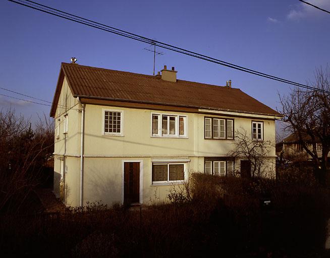 maisons jumelles dites maisons Hitchins