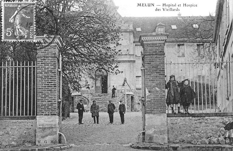 couvent des Récollets, puis hôpital Marc-Jacquet