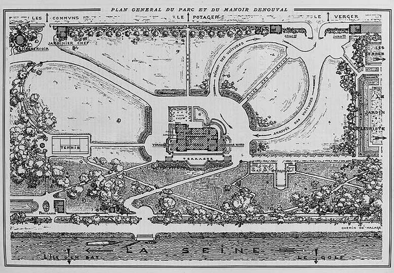 Maison de villégiature de notable dite Manoir Denouval